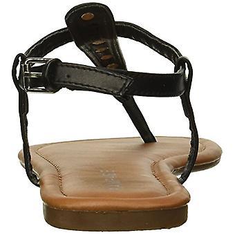 Rampage vrouwen Pashmina Casual comfortabele T-bar platte sandalen