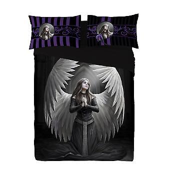 Wild star - guardian angel - duvet & pillow covers set uk kingsize