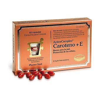 Activecomplex Carotene + E 60 tablets