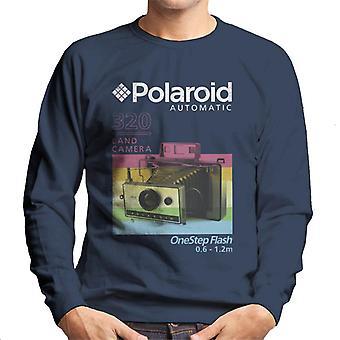 Polaroid 320 Maa kamera Miesten&s Collegepaita