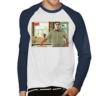 American Pie Jim berührt Pie Men's Baseball langärmeliges T-Shirt