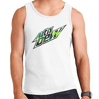 Mountain Dew Camouflage Design Men's Vest