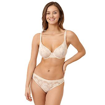Miss Sans Complexe Sous Le Charme 79AAF52-HJJ Women's Powder Ivory Floral Underwired Full Cup Bra