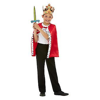 Childrens Royal Fancy Dress Kit