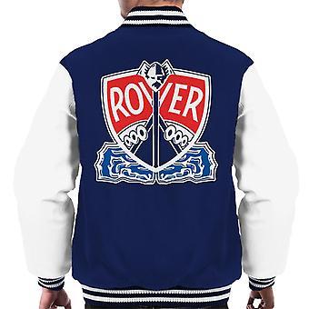 Rover Logo With Border British Motor Heritage Men's Varsity Jacket