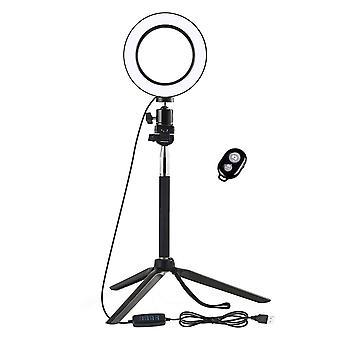 Selfie Lamp / Ring Light (16 cm) and Tripod