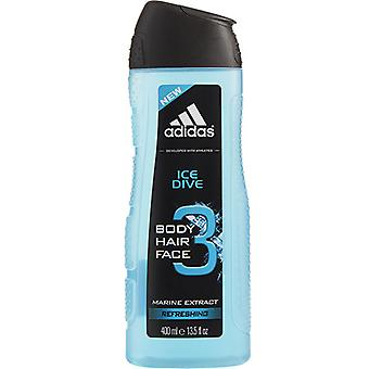 Adidas Ice Dive Marine Extract Refreshing Shower Gel 400ml/13.5oz