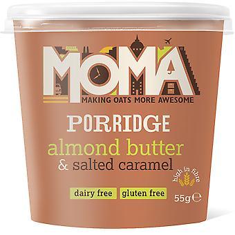 Moma Gluten Free Almond Butter & Salted Caramel Porridge Pot