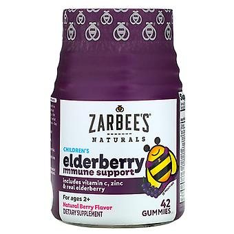 Zarbee's, Children's Elderberry Immune Support, Natural Berry Flavor, For Ages 2