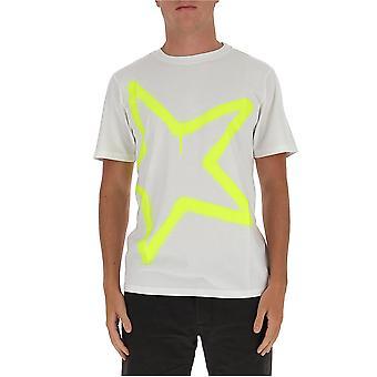 Golden Goose Gmp00456p00018710368 Hombres's camiseta de algodón blanco