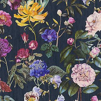 Jette Virágok Háttérkép Navy AS létrehozása AS373364