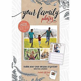 Otter House 2021 Calendar-your Family Photos Organiser