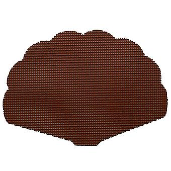 Fishnet Chocolate Shell Placemat Dz.