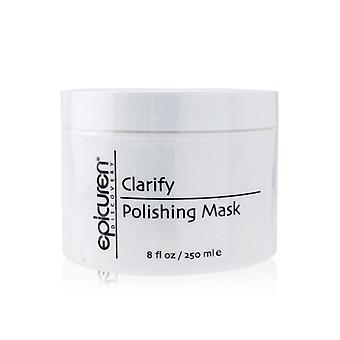 Clarify Polishing Mask - For Normal Oily & Congested Skin Types (salon Size) - 250ml/8oz
