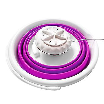 Portable ultrasonic washing machine, can be folded to recall whirlpool