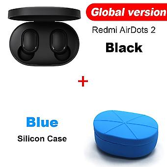 Redmi Airdots 2 Tws Bluetooth Wireless Earphone Stereo Bass Earbuds Voice Control  Bt 5.0 Noise Reduction Tap