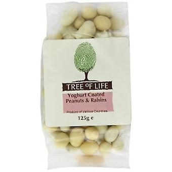 Tree Of Life - Peanuts & Raisins - Yoghurt Coated