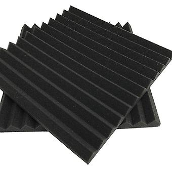 30×30×2.5cm 12 Pack- Acoustic Panels Foam Engineering Sponge Wedges