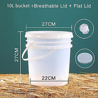 Fermentation Container With Lid Food Grade Fermenter Bucket