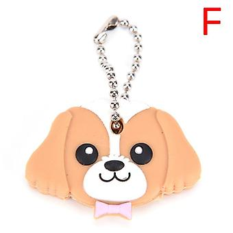 1-pc Silicone Key-ring Cap Head Cover, Keychain Pendant For, Women, Jewelry