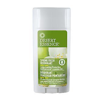 Desert Essence Spring Fresh Deodorant, 2.5 OZ