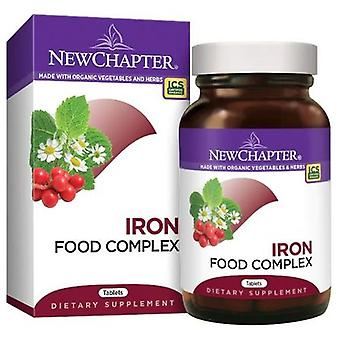 New Chapter Iron Food Complex, 60 Tabs