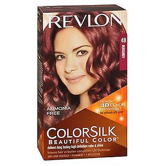 Revlon Revlon Colorsilk Natural Hair Color, 4B Burgundy each