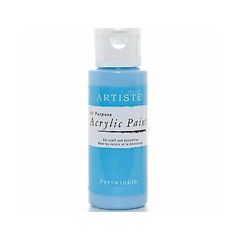 Periwinkle docrafts Artiste All Purpose Acrylic Craft Paint - 59ml