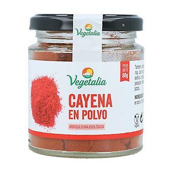 Cayenne Bio 80 g