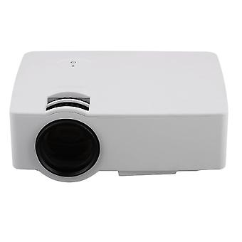 E08 Lcd+led Portable Projector 1500lm 800x480 Pixels Hdmi, Home Media Player