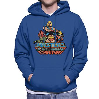Masters Of The Universe He Man Classic Logo Men's Hooded Sweatshirt