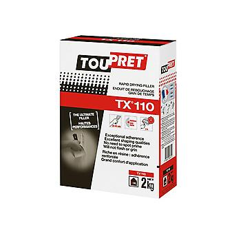 Toupret TX® 110 Rapid Drying Filler 2kg