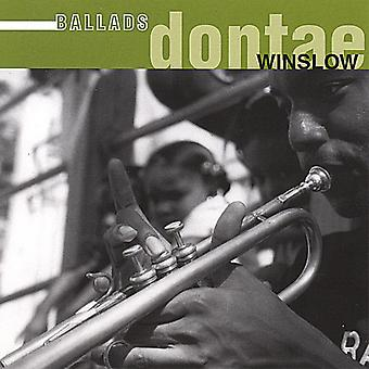 DONTAE Winslow - ballader [CD] USA import