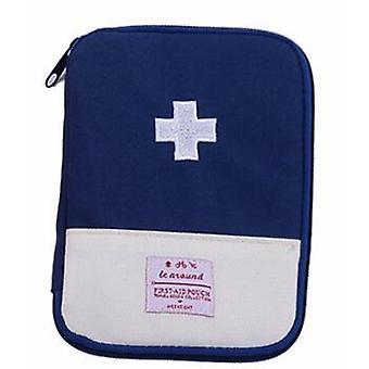 Kit médico de mini primeiros socorros útil portátil para o acampamento ao ar livre -