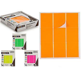 Labels Zelfklevende rechthoekige (43 x 52 mm) (45 uds)