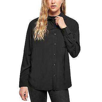Urban Classics Ladies - Ylisuoittava pusero paita musta