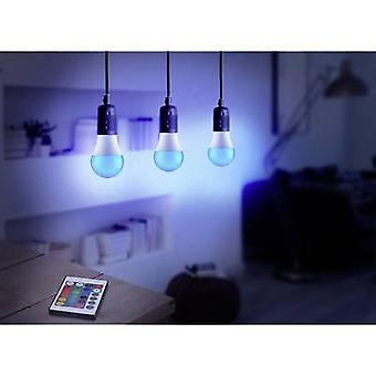 قاعدة التكنولوجيا TRGB-6W-16، 3 جهاز كمبيوتر شخصى مجموعة LED (أحادية اللون) EEC A (A ++ - E) E27 التعسفي 6 W RGBW (Ø x L) 60 مم × 108 مم تغيير اللون، خافت، بما في ذلك التحكم عن بعد