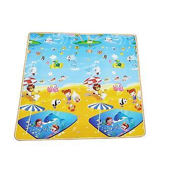 Paksu indeksointi matto pikkulapset palapelit -söpö peli pad