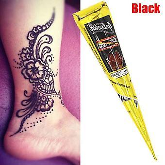 Indien Henna Tattoo Paste Cone Body Paint Temporaire Mehndi Henna