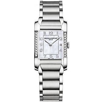 Baume & mercier watch hampton quartz moa10051