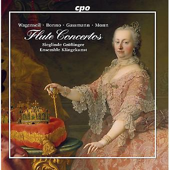 Bonno / Grobinger - Flute Concertos From Vienna [CD] USA import