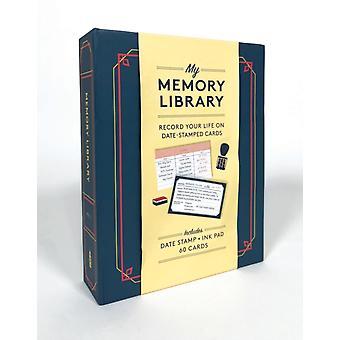 My Memory Library Kit Registra la tua vita su DateStamped Cards di Noterie
