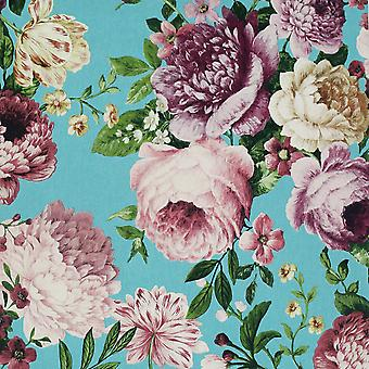 Tapestry Floral Tapet Teal / Rosa Arthouse 297304