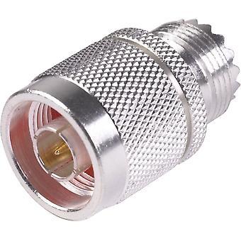 N Male/UHF Female Adapter