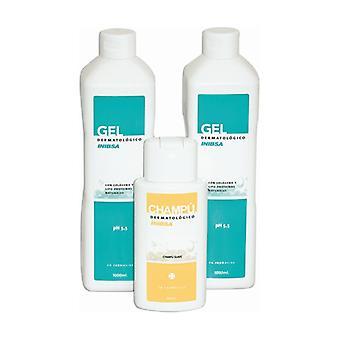 Pack 2 body dermatological gel + shampoo 2 x 1000 ml + 200 ml