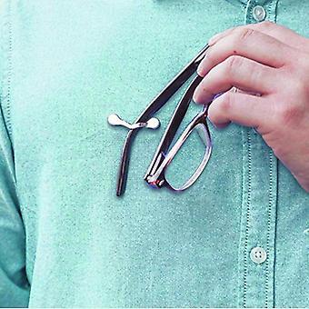 Reloj de ojos magnético, gafas de sol o soporte de etiqueta de nombre