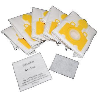 Miele Vacuum Cleaner HyClean 3D KK Series Dust Bags Pack of 5