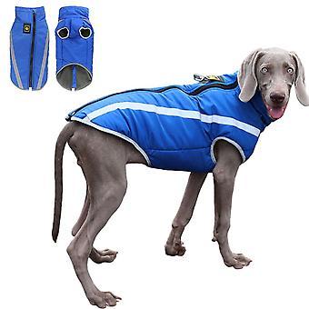 Iarna cald hond kleding waterdicht pet gewatteerde vesta rits jas jas voor kleine mediu grota honden hond kostuum ropa para pe