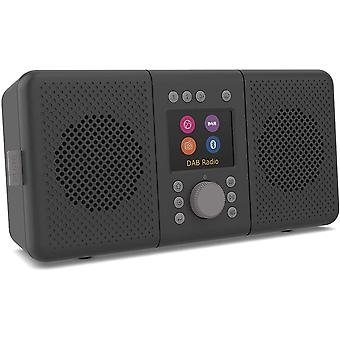ELAN CONNECT+ All-In-One Stereo Internetradio mit DAB und Bluetooth 5.0 (DAB/DAB+ & UKW-Radio,