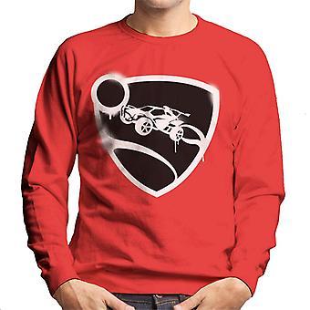 Rocket League Spray Painted Logo Män & s Sweatshirt